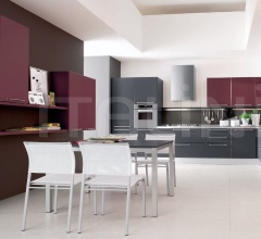 Итальянские угловые кухни - Кухня Carrera 26 varianti фабрика Veneta Cucine