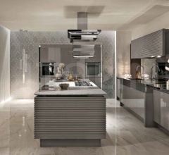 Кухня V фабрика Aster Cucine