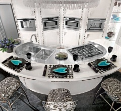 Кухня Diamond Bianca фабрика Brummel Cucine