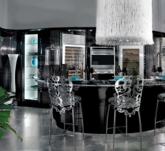 Кухня Diamond Nera фабрика Brummel Cucine