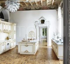 Итальянские кухни с островом - Кухня Flora фабрика Silik