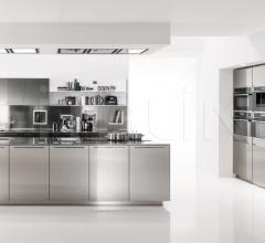 Кухня Free Steel 1 фабрика Euromobil