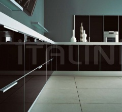 Итальянские угловые кухни - Кухня Luce 01 фабрика Cesar