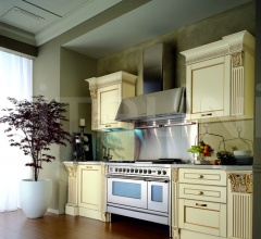 Кухня Solaria laccato crema фабрика Tomassi Cucine