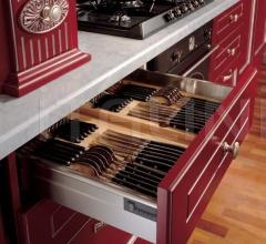 Кухня Solaria laccato rossa фабрика Tomassi Cucine
