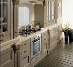 Кухня Solaria laccato grigio antico фабрика Tomassi Cucine