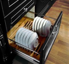 Кухня Solaria laccato nero фабрика Tomassi Cucine