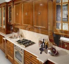 Кухня Solaria Essenze noce фабрика Tomassi Cucine