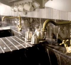 Кухня Artemide laccata ostrica фабрика Tomassi Cucine