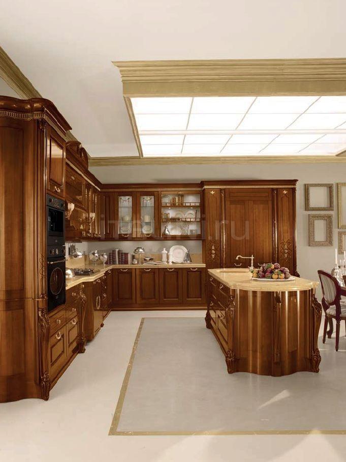 Кухня Artemide noce gubbio Tomassi Cucine