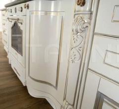 Кухня Artemide laccata bianca фабрика Tomassi Cucine