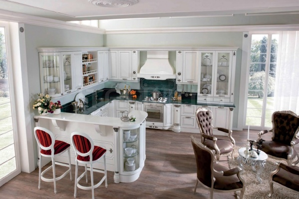 Кухня Belle epoque bianco latte