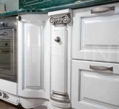 Кухня Belle epoque bianco latte фабрика Tomassi Cucine (закрыта)