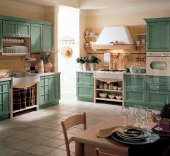 Кухня Primavera verde prato фабрика Tomassi Cucine