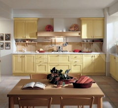 Кухня Primavera giallo pastello фабрика Tomassi Cucine