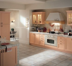 Кухня Primavera rosa фабрика Tomassi Cucine