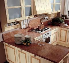 Кухня Ardesia corda/rosa cipria фабрика Tomassi Cucine