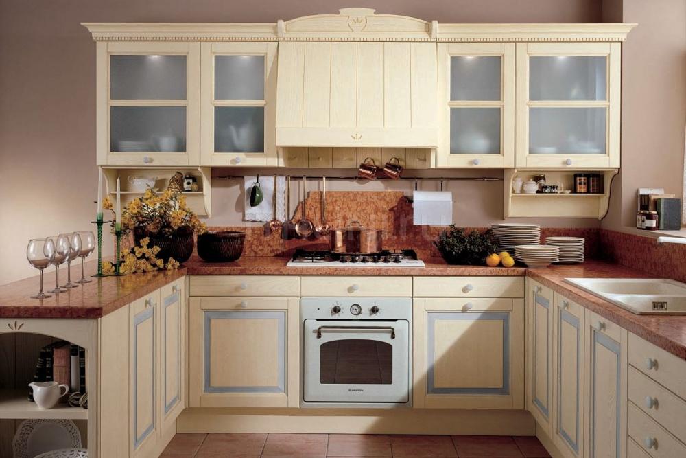 Кухня Ardesia corda/azzurro cielo Tomassi Cucine