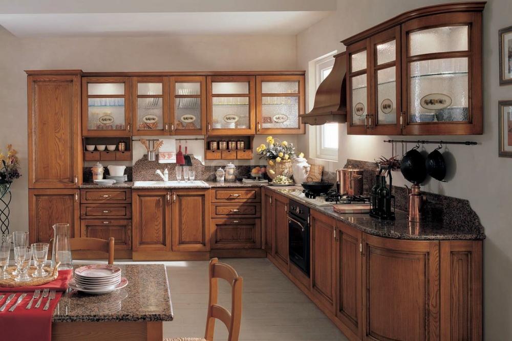 Кухня Ardesia frassino anticato Tomassi Cucine