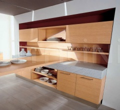 Кухня Oxana rovere naturale фабрика Tomassi Cucine
