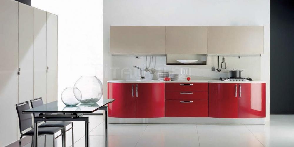 Кухня Andromeda rosso rubino Tomassi Cucine