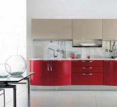 Кухня Andromeda rosso rubino фабрика Tomassi Cucine