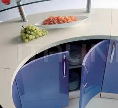 Кухня Andromeda azzurro flow фабрика Tomassi Cucine (закрыта)