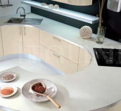 Кухня Andromeda bianco perla фабрика Tomassi Cucine (закрыта)