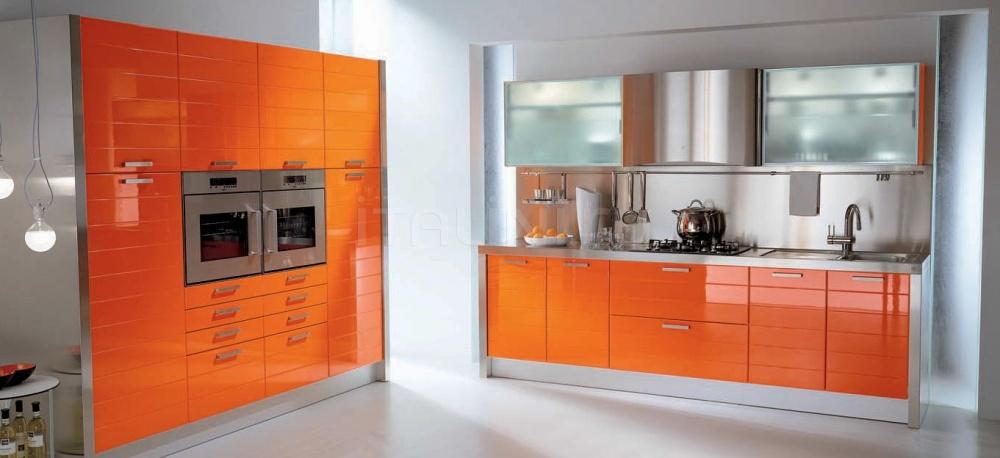 Кухня Modula arancio Tomassi Cucine