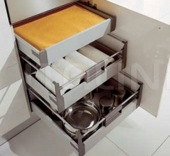 Кухня Modula arancio фабрика Tomassi Cucine (закрыта)
