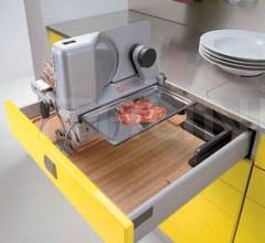 Кухня Modula giallo фабрика Tomassi Cucine
