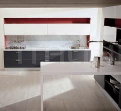 Кухня Alluminia grigio фабрика Tomassi Cucine