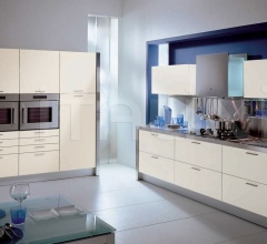 Кухня Alluminia opaco colore фабрика Tomassi Cucine