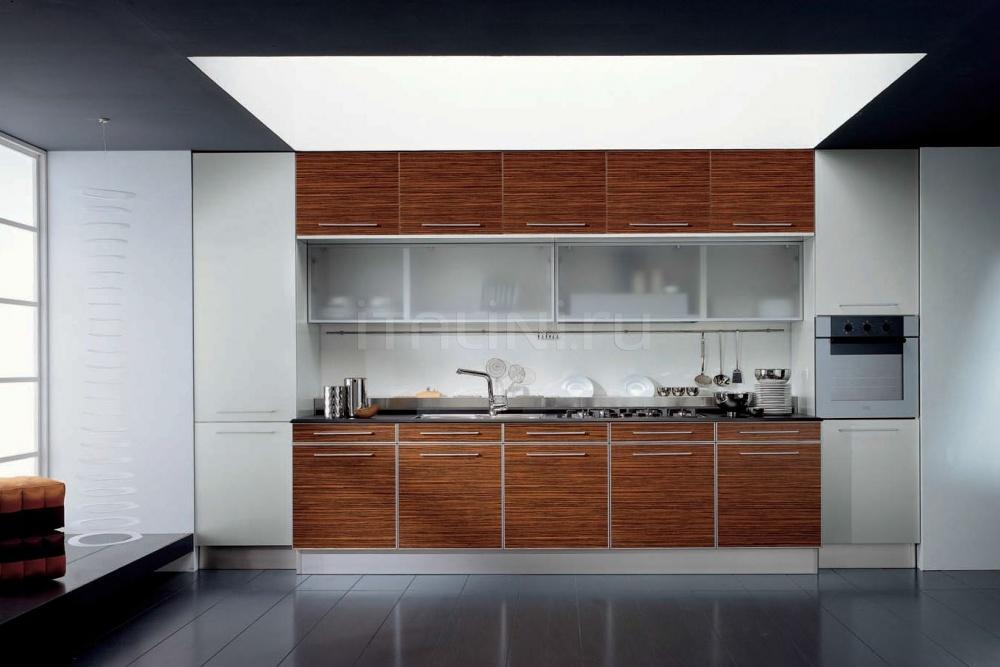 Кухня Teknika legno zebrano dem Tomassi Cucine