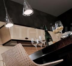 Итальянские кухни с барной стойкой - Кухня Genesis фабрика Turri