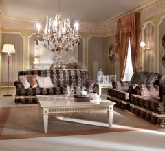 Трехместный диван T456/P KB02S фабрика Turri