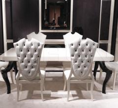 Стол обеденный T2020 RT06C+TE13S фабрика Turri