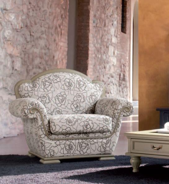 Кресло 1559 L7410 TF100 Tonin Casa