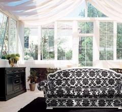 Трехместный диван 1567 L0102 TS03 фабрика Tonin Casa