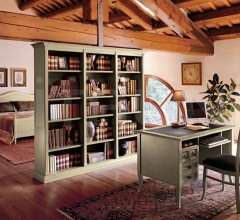 Книжный стеллаж 1297 L7402 фабрика Tonin Casa