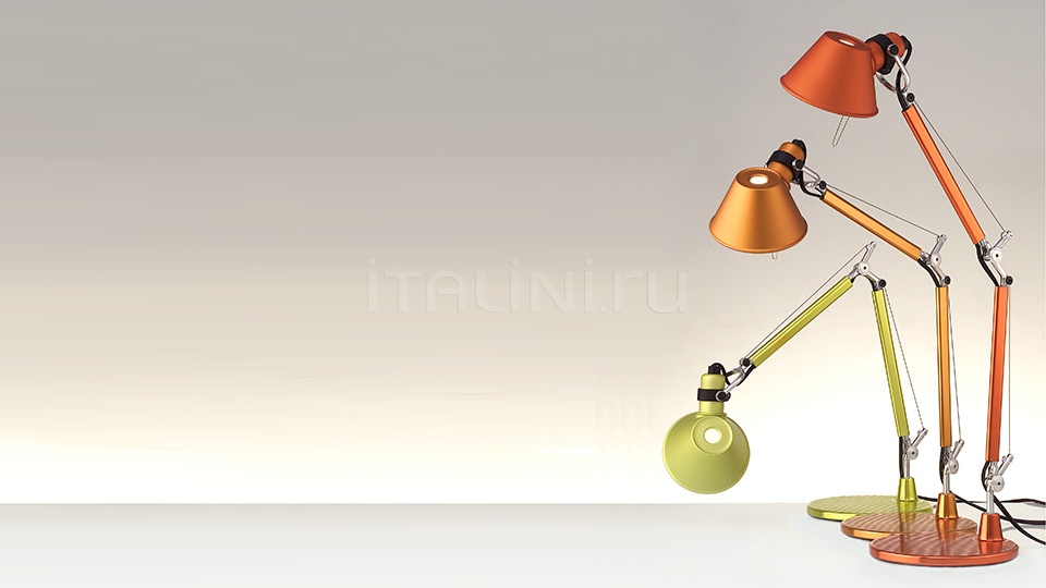 Настольная лампа Tolomeo micro Artemide