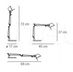 Настольная лампа Tolomeo Micro Table Artemide