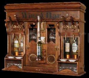 Навесной винный шкаф 542