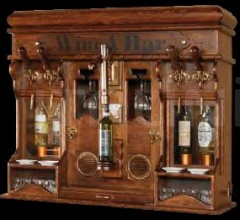 Итальянские винные шкафы, комнаты - Навесной винный шкаф 542 фабрика Maggi Massimo
