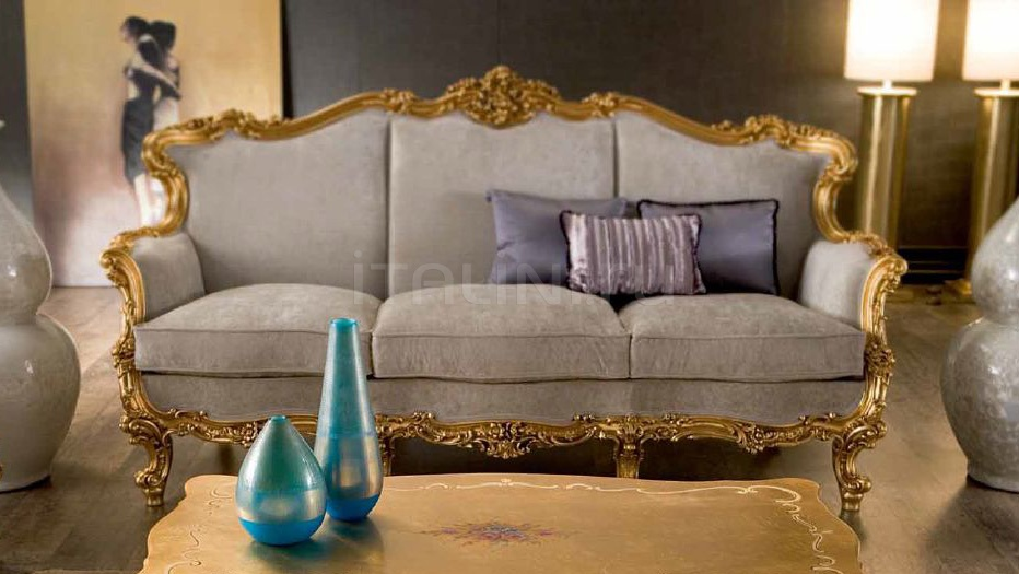 Трехместный диван Omero 8813 Silik