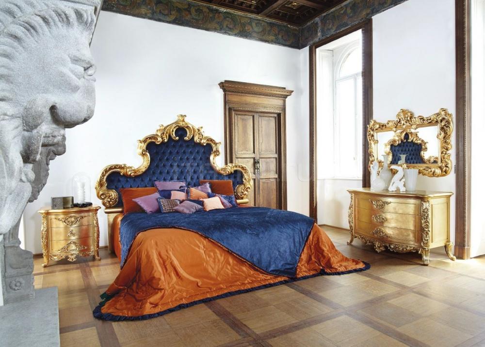 Кровать Aura 7782/4I Silik