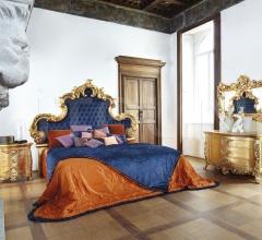 Итальянские кровати - Кровать Aura 7782/4I фабрика Silik