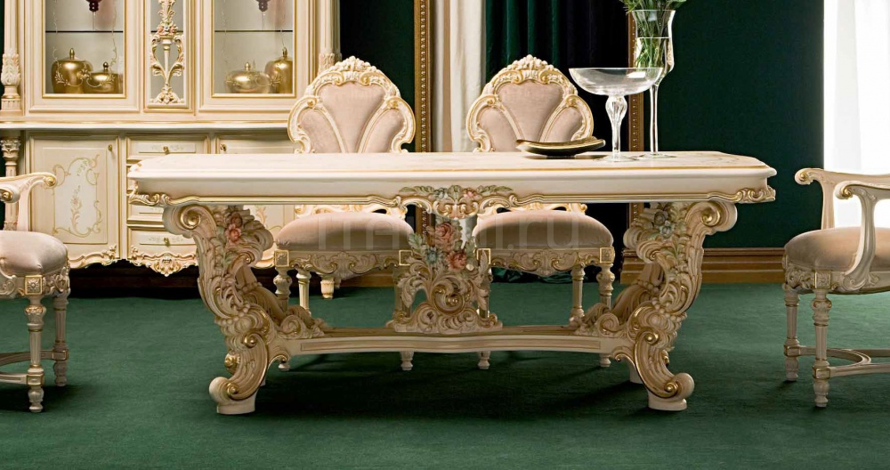 Стол обеденный Fidia 9955 Silik