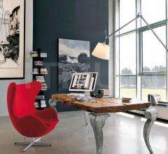 Письменный стол Sidney 109 Foglia Argento фабрика Bizzotto