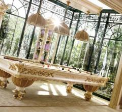Итальянские бильярдные, игровые столы - Бильярдный стол 7250/A фабрика Riva Mobili D`Arte
